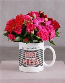 flowers: Hot Mess Flower Mug!