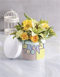 gifts: Get Well Sunshine Hatbox!