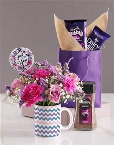 gifts: Pastel Floral Mug!
