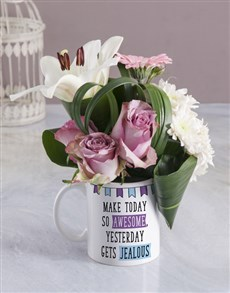flowers: Awesome Floral Mug!