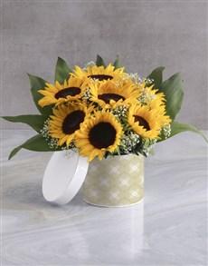 flowers: Sunflower Box!