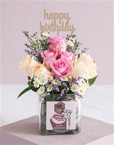 flowers: Regal Birthday Roses in a Vase!