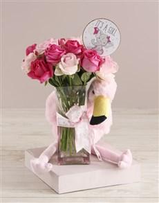 flowers: Baby Girl Welcome Arrangement!