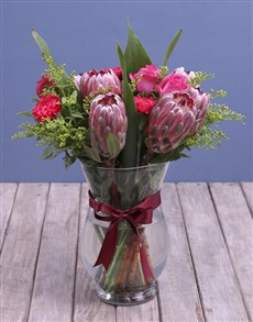 flowers: Protea Paradise Surprise!