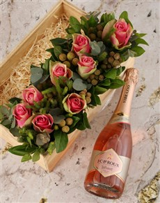 flowers: Bright Pink Rose Fantasia!