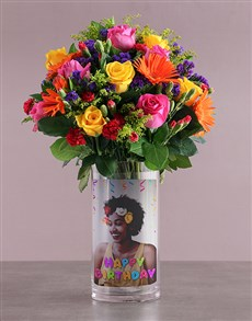 flowers: Happy Birthday Mixed Blossoms !