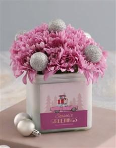 flowers: Pink Festive Sprays!