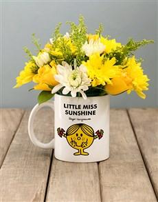 flowers: Little Miss Sunshine Flowers In Mug!