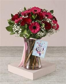 flowers: Thinking of You Gerbera Arrangement!