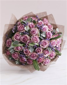 gifts: Lovely Lilac Rose Bouquet!