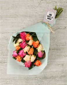 flowers: Personalised Today is Your Day Bouquet!