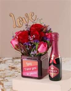 gifts: Personalised Love You to Pieces Blooms!
