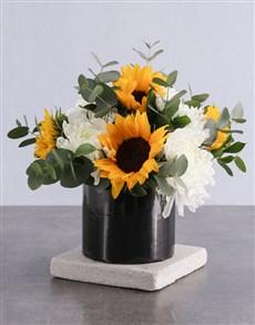 flowers: Secret Admirer Sunflower Surprise!