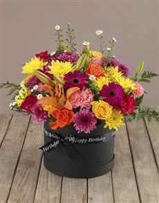 flowers: Colourful Mixed Birthday Flowers!