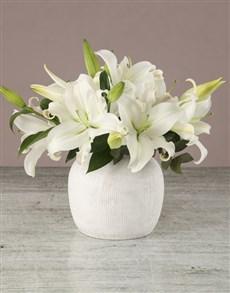 flowers: Lavish Lily Arrangement!