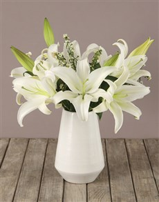 flowers: Captivating Casablanca Lilies!