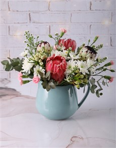 gifts: Prim and Proper Mixed Protea Bouquet!