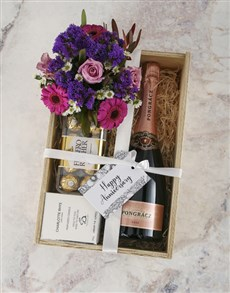 gifts: Shades Of Purple Mixed Hamper!
