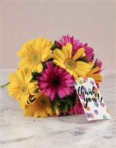 flowers: Mixed Gerberas Of Gratitude!