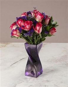 flowers: All Things Bright Rose Arrangement!