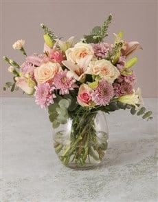 flowers: Candyfloss Pink Arrangement!