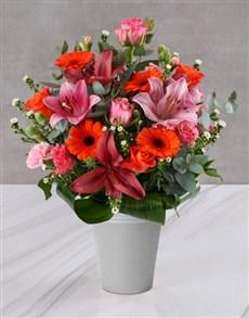 flowers: Blushing Beauty Mixed Arrangement!