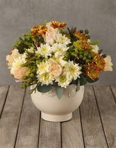 flowers: Classic Opulence Mixed Arrangement!