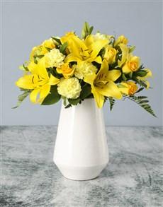 flowers: Stars And Suns Mixed Arrangement!