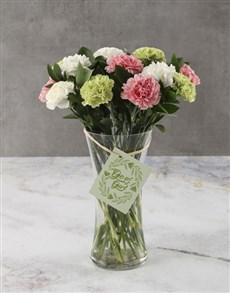 flowers: Get It Girl Carnation Arrangement!
