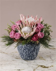 gifts: Proud and Pretty Protea Arrangement!