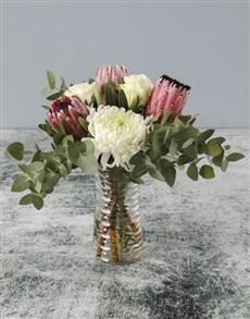 flowers: Playful Protea Bouquet!