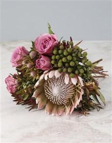 flowers: Bohemian Dream Protea Bouquet!