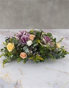 flowers: Captivating Cut Kale Arrangement!