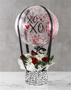 gifts: Hugs And Kisses Floral Arrangement!