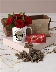 flowers: Out Of This World Red Roses In Mug!