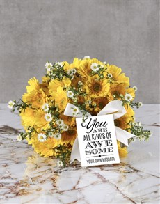 flowers: Bright And Awesome Gerbera Bouquet!