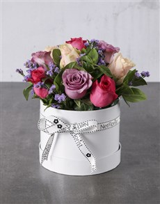 flowers: Pastel Paradise Boxed Roses!