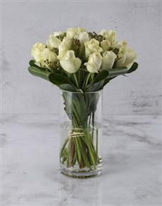 gifts: Inspiring White Roses!