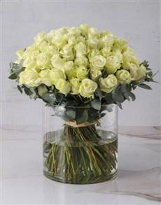 flowers: Abundance Of Exquisite White Roses!