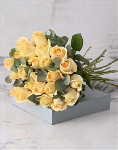 flowers: Cream Roses Of Dreams Bouquet!