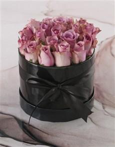 flowers: Lush Lilacs Hatbox!