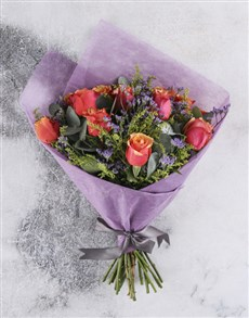 flowers: Sophisticated Cherry Brandy Bouquet!