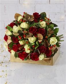 flowers: Christmas Celebrations Bouquet!