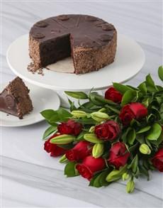 flowers: A Taste Of Romance Combo!