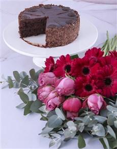 gifts: Purple Petals Cake Combo!