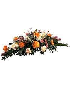 flowers: Tribute to a Funeral Display!