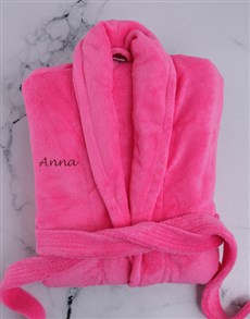 gifts: Personalised Pink Gown!