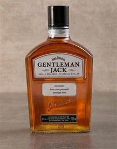 gifts: Personalised Gentleman Jack!