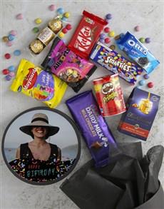 gifts: Personalised Photo Birthday Confetti Hat Box!