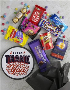 gifts: Personalised Thank You Sweet Hat Box!